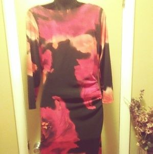 Gently used Jones of New York Black and red dress